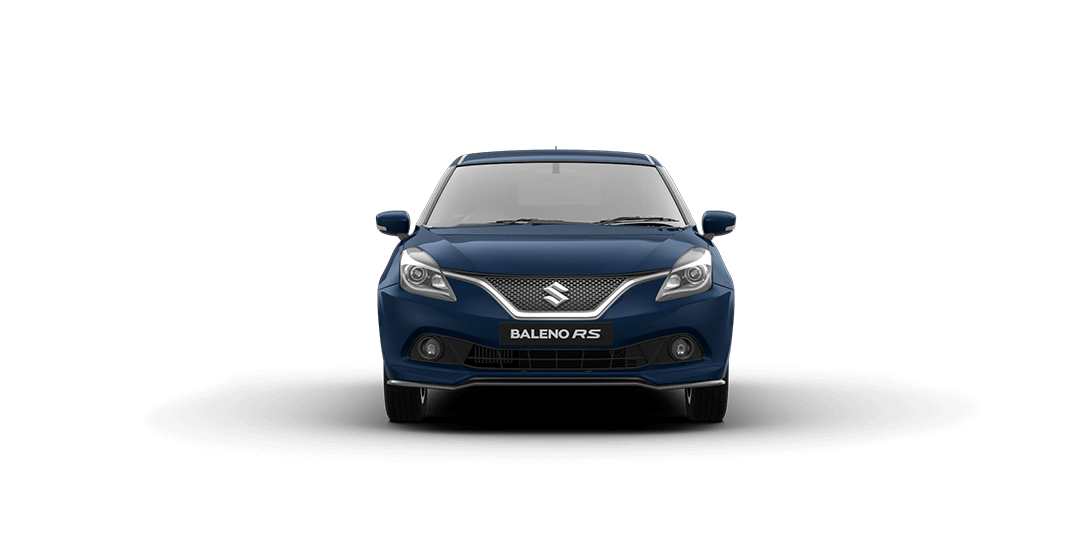 Baleno RS Ray Blue Car Front View