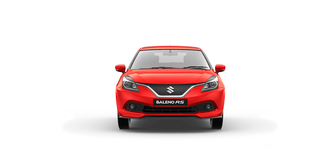 BalenoRs Red Car font View