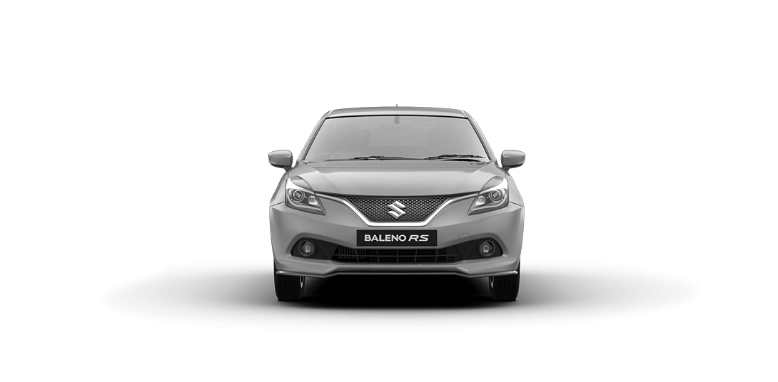 Baleno RS Silver Car Front View