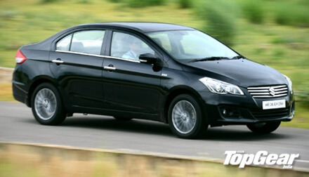 Maruti Ciaz Top Gear Review
