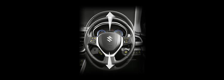 Adjustable Telescopic and Tilt Steering - Mobile Image