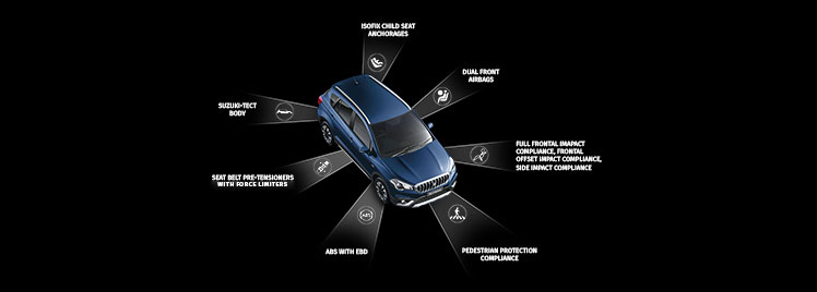 NEXA Safety Features for S-Cross